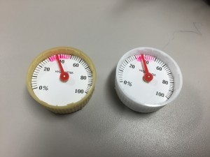 自作湿度計
